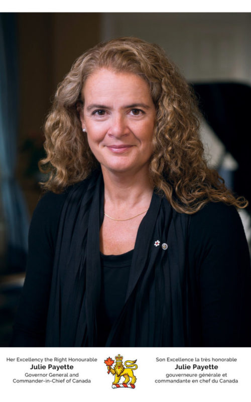 Julie Payette Official Picture